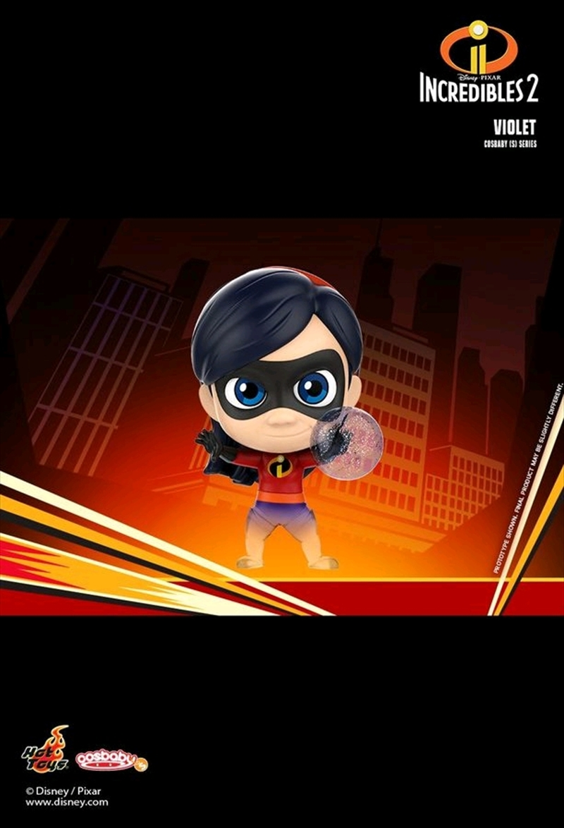 Incredibles 2 - Violet Cosbaby | Merchandise