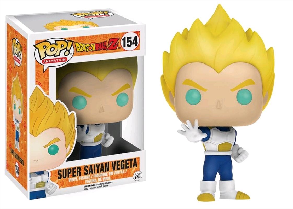 Dragon Ball Z - Vegeta Super Saiyan Blue & White US Exclusive Pop! Vinyl [RS]   Pop Vinyl
