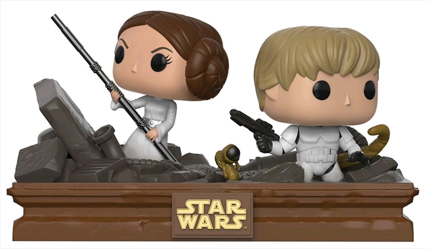 Star Wars - Trash Compactor Escape Movie Moments US Exclusive Pop! Vinyl [RS] | Pop Vinyl