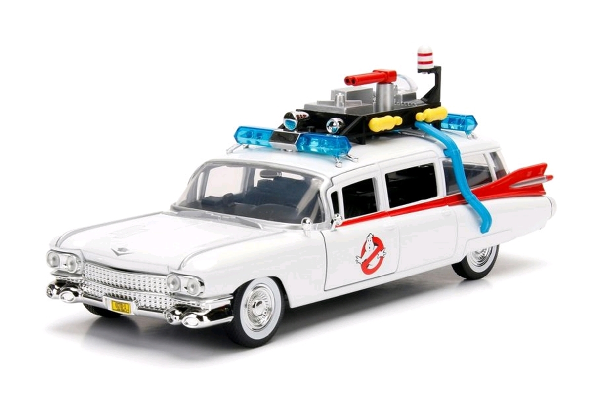 Ghostbusters - Ecto-1 1984 Hollywood Rides 1:24 Scale Diecast Vehicle | Merchandise