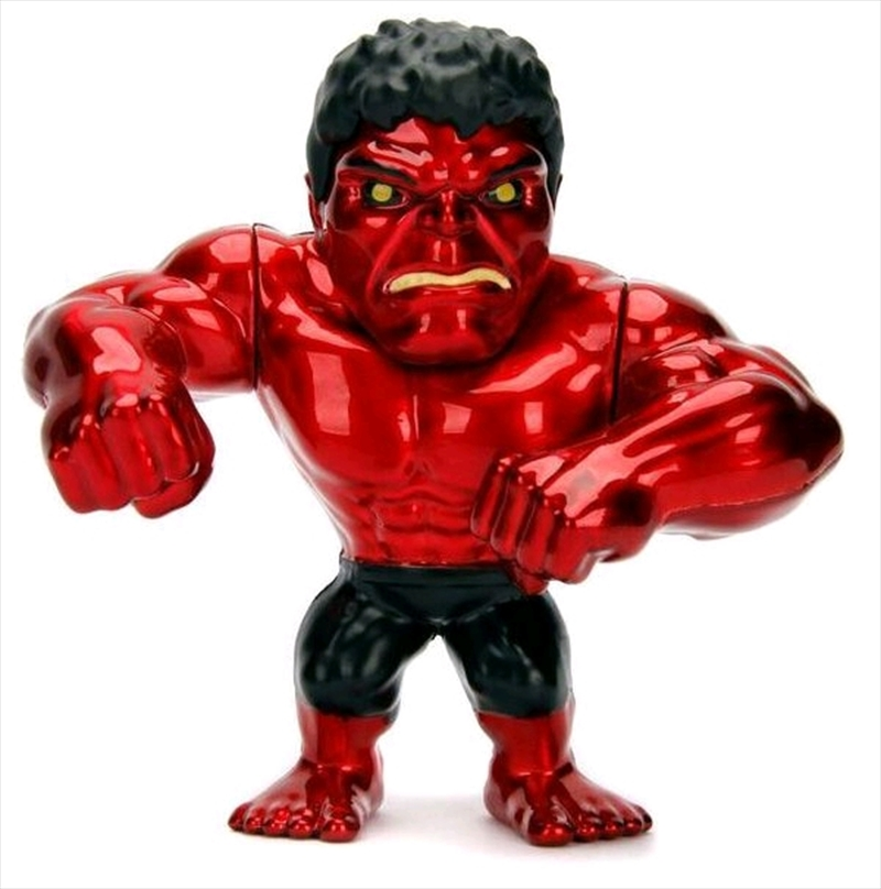 "Hulk - Red Hulk 4"" Metals 