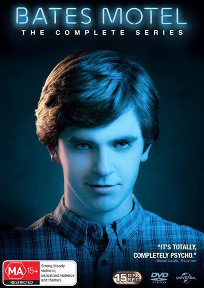 Bates Motel - Season 1-5 Boxset | DVD