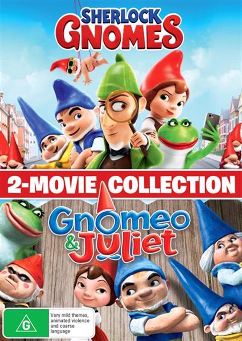 Gnomeo And Juliet / Sherlock Gnomes - Franchise Pack | DVD