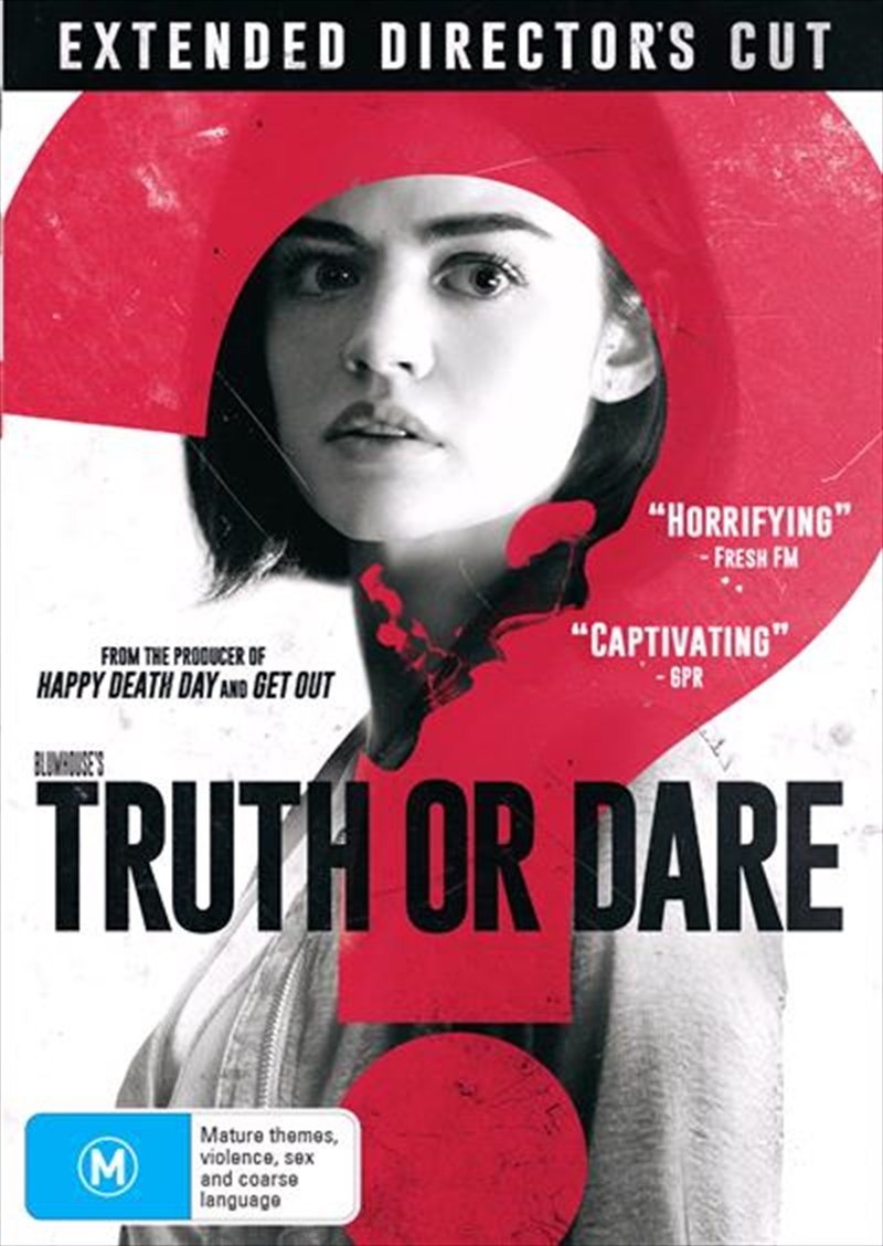 Truth Or Dare - Extended Director's Cut | DVD