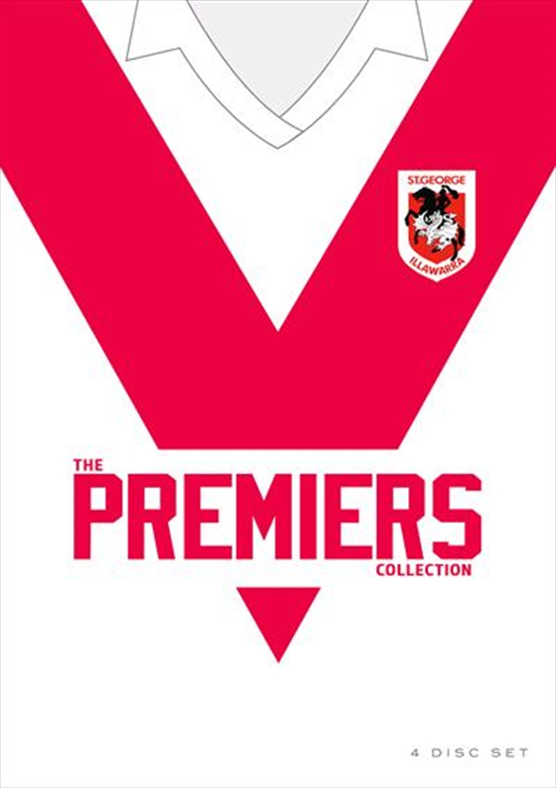 NRL - St. George Illawarra Dragons Premiers Collection | DVD