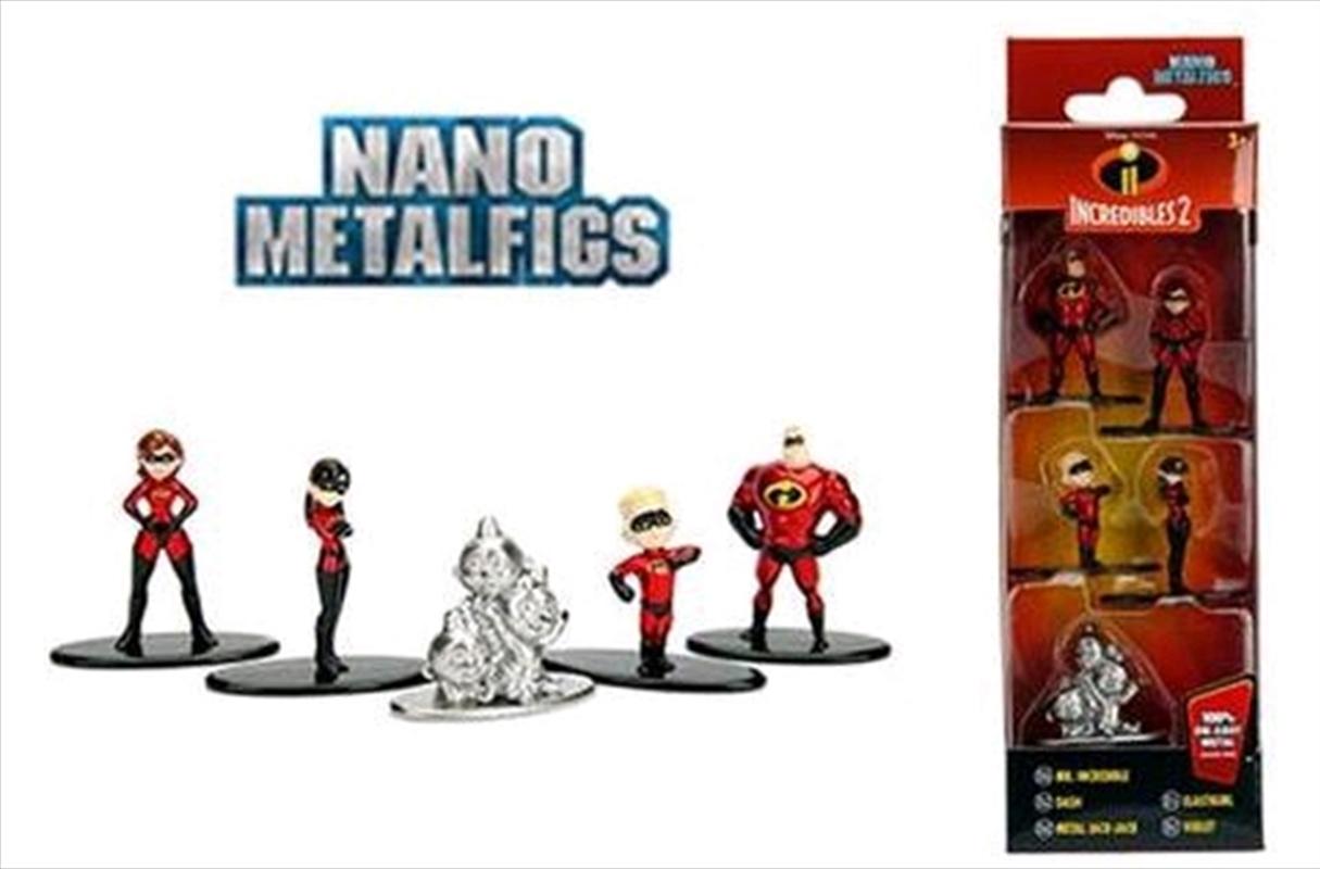 Incredibles - Nano Metalfigs 5-pack | Merchandise