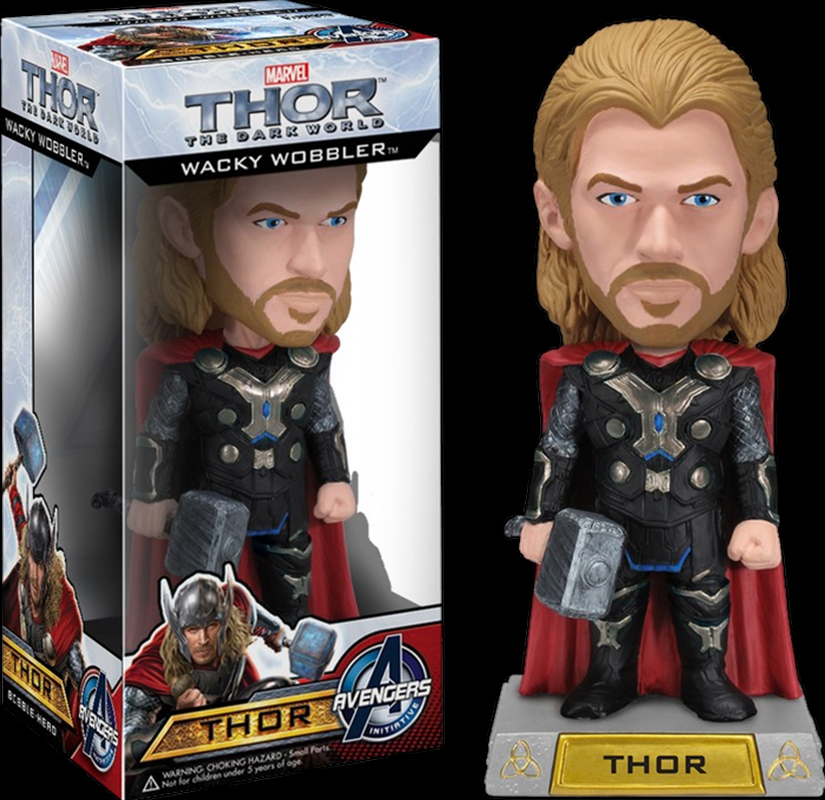 Thor 2: The Dark World - Thor Wacky Wobbler | Merchandise