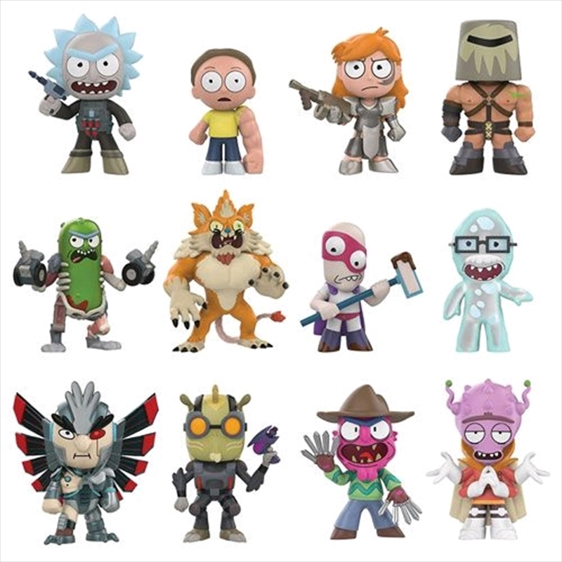 Rick and Morty - Mystery Minis Series 02 Blind Box | Merchandise