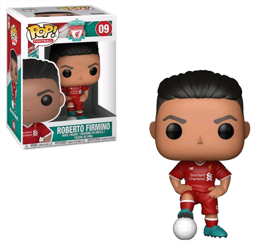 English Premier League: Liverpool - Roberto Firmino Pop! Vinyl | Pop Vinyl
