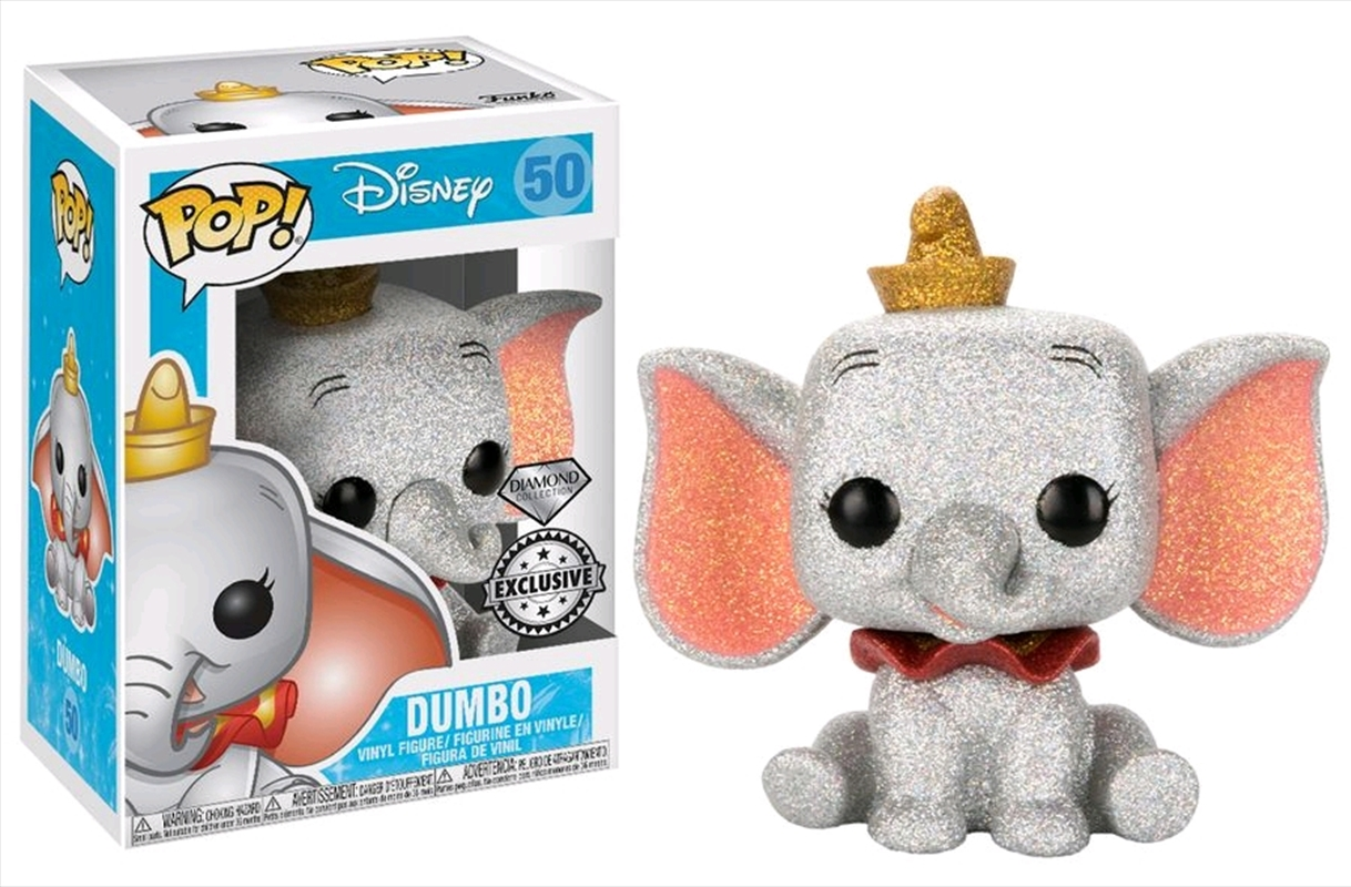 Dumbo - Dumbo Diamond Glitter US Exclusive Pop! Vinyl | Pop Vinyl
