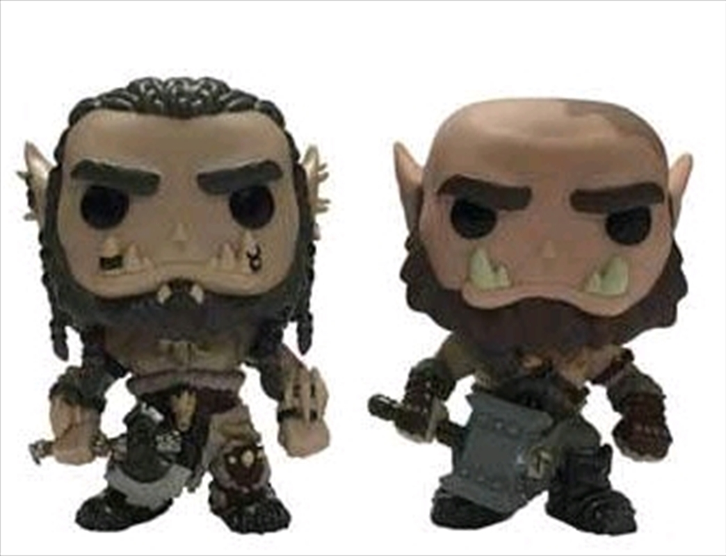 Warcraft Movie - Durotan & Orgrim US Exclusive Pop! Vinyl 2 Pack | Pop Vinyl