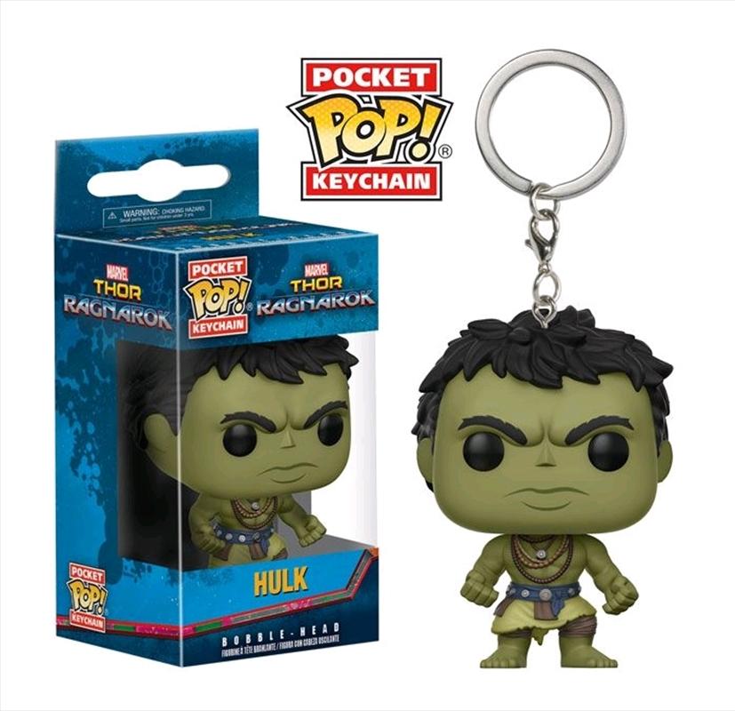 Thor 3: Ragnarok - Hulk Casual Pocket Pop! Keychain   Pop Vinyl