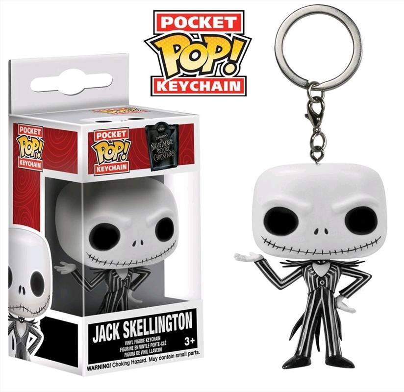 The Nightmare Before Christmas - Jack Skellington Pocket Pop! Keychain | Pop Vinyl