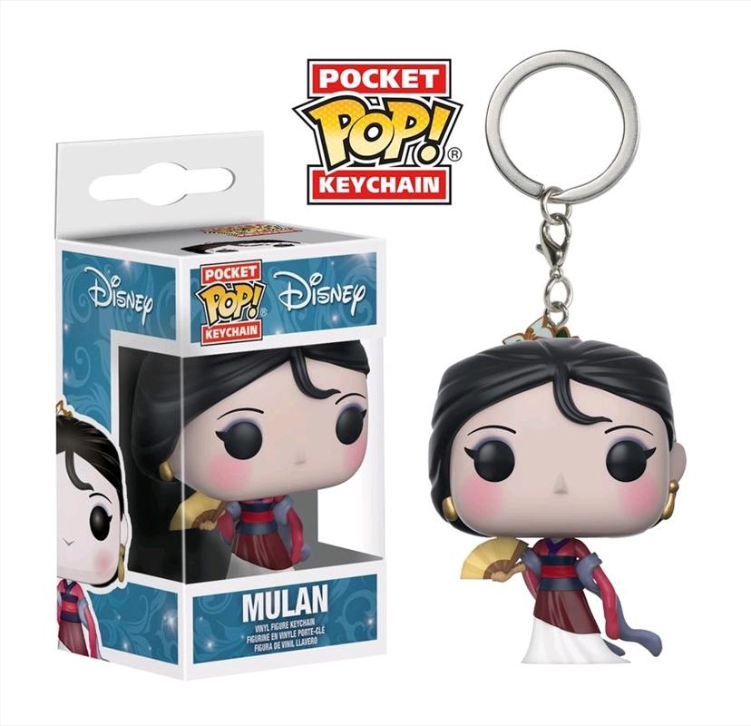 Mulan - Mulan (v2) Pocket Pop! Keychain | Pop Vinyl