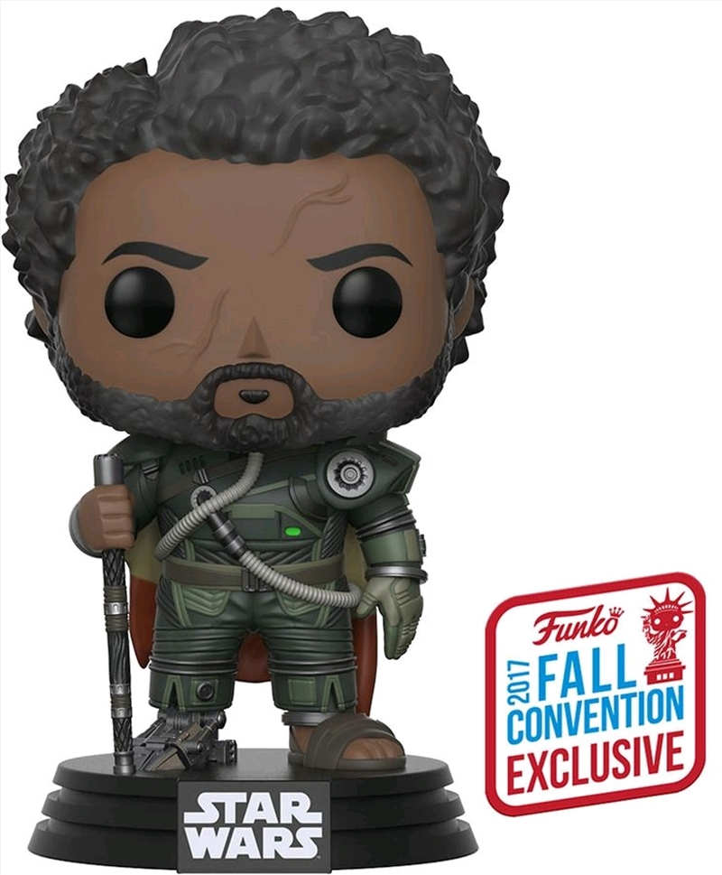 Star Wars: Rogue One - Saw with Hair NYCC 2017 US Exclusive Pop! Vinyl   Pop Vinyl