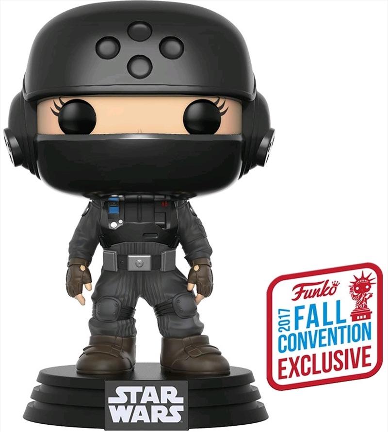 Star Wars: Rogue One - Jyn with Helmet NYCC 2017 US Exclusive Pop! Vinyl | Pop Vinyl