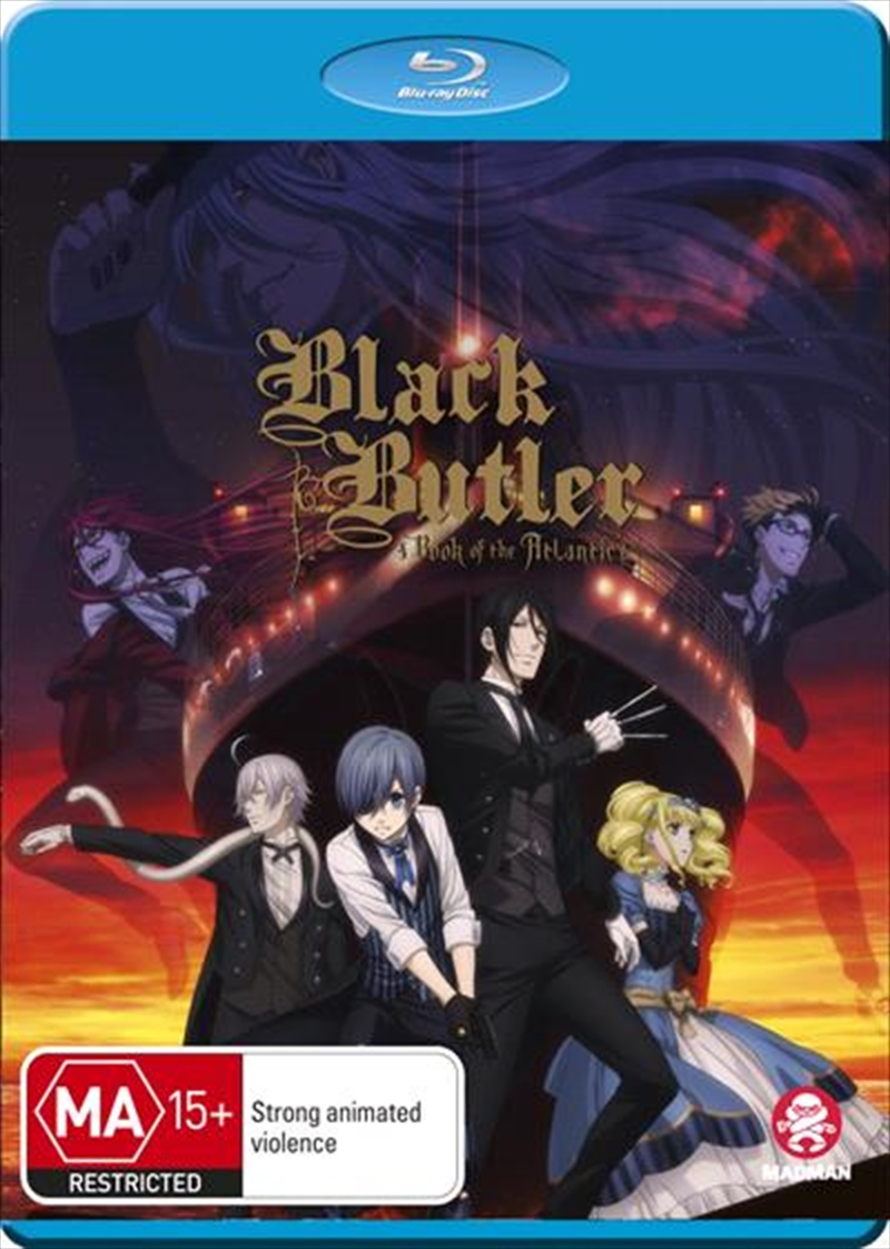 Black Butler - Book Of The Atlantic | Blu-ray