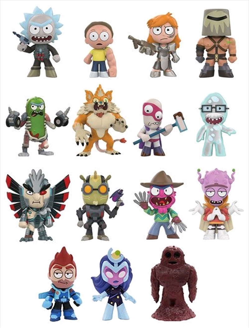 Rick and Morty - Mystery Minis Series 02 Gamestop US Exclusive Blind Box [RS] | Merchandise