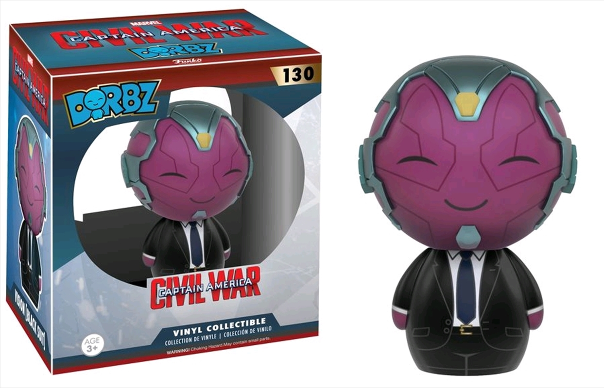 Captain America 3: Civil War - Vision Black Suit US Exclusive Dorbz   Dorbz