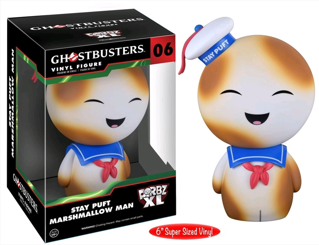 Ghostbusters - Toasted Stay Puft Marshmallow Man XL US Exclusive Dorbz | Dorbz