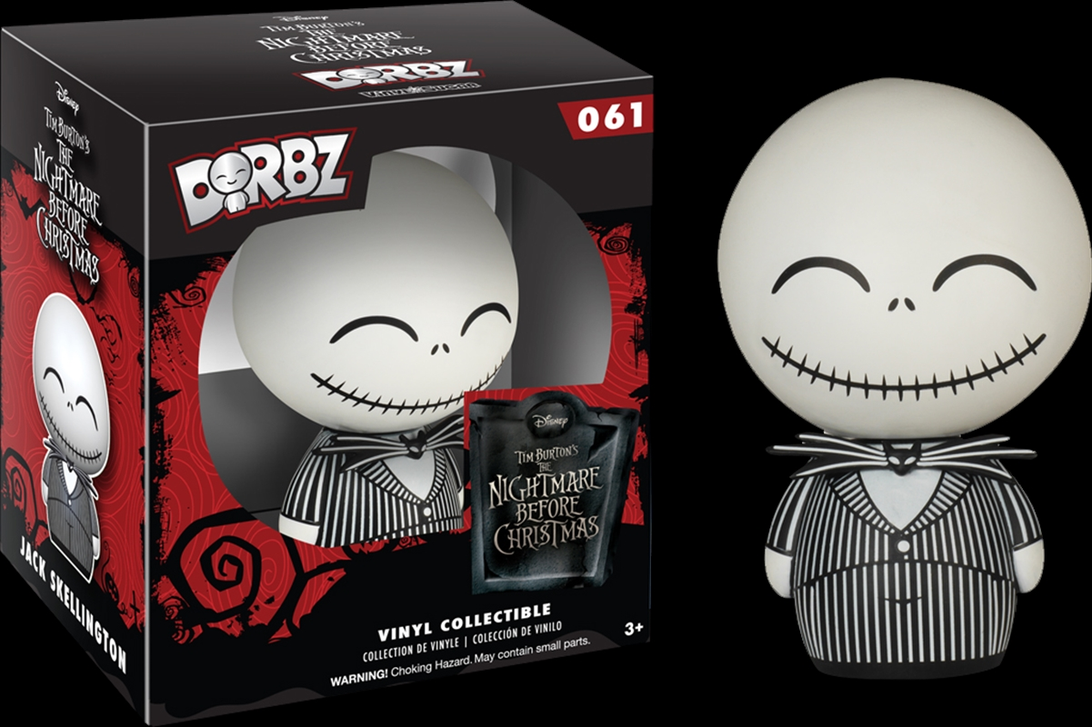 The Nightmare Before Christmas - Jack Skellington Dorbz | Dorbz