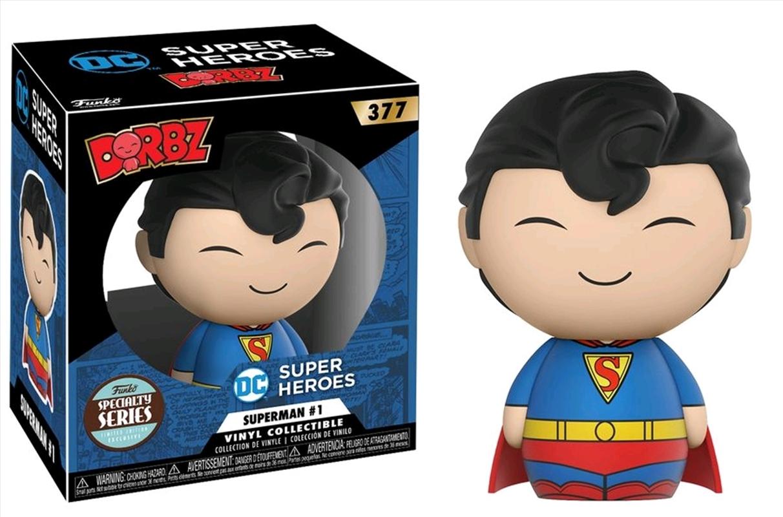 Superman - Superman #1 Specialty Store Exclusive Dorbz | Dorbz