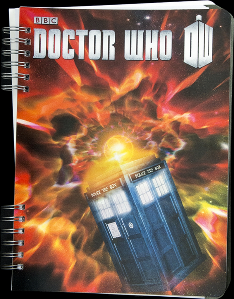 Doctor Who - TARDIS Lenticular Journal | Merchandise