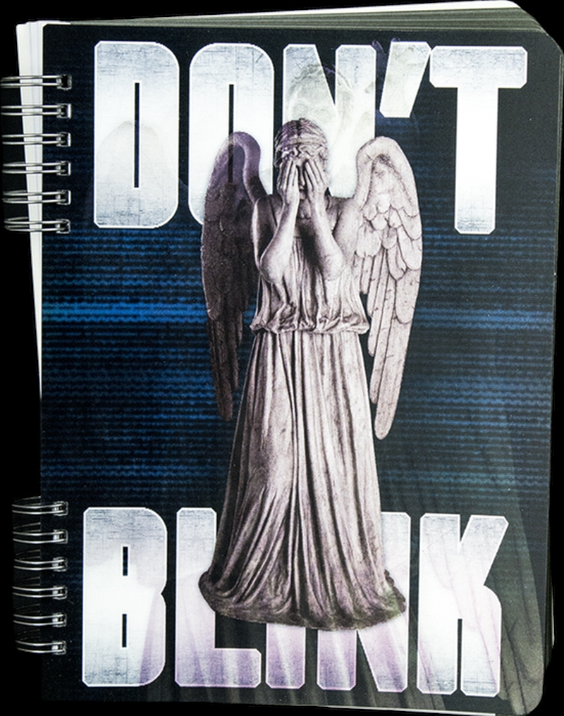 Doctor Who - Don't Blink Lenticular Journal | Merchandise