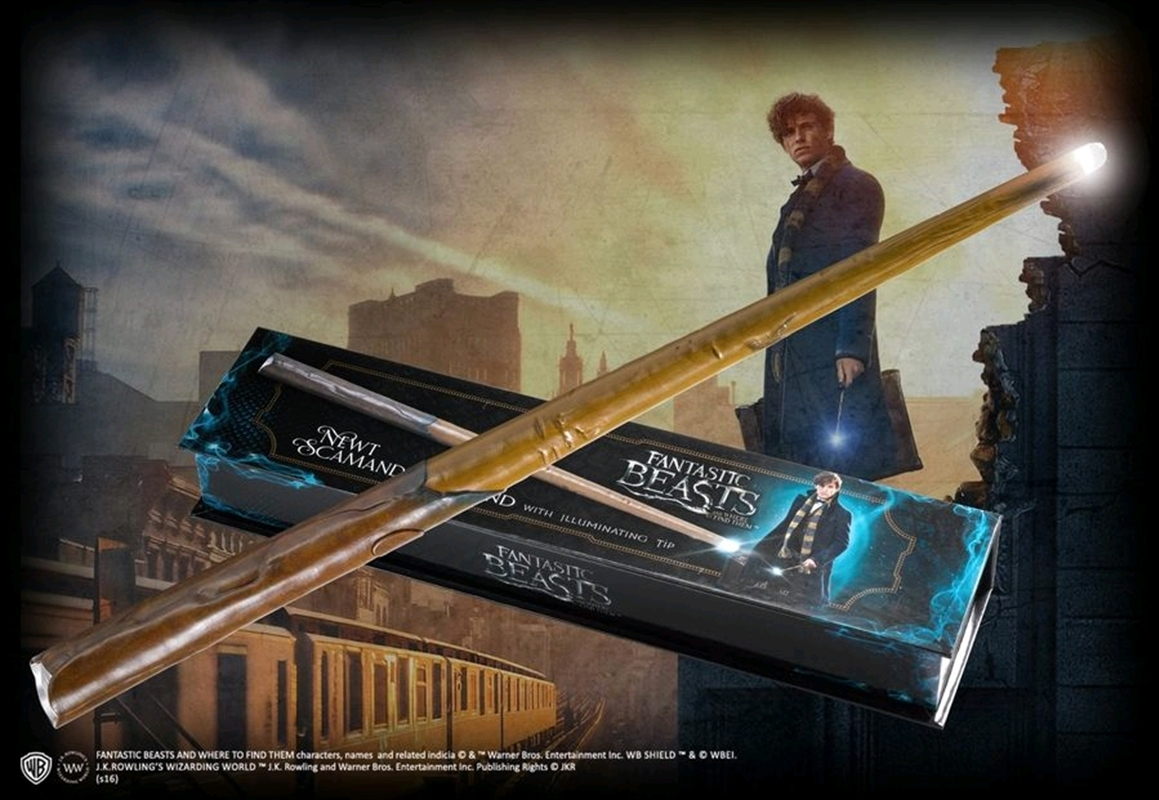 Fantastic Beasts and Where to Find Them - Newt Illuminating Wand | Apparel