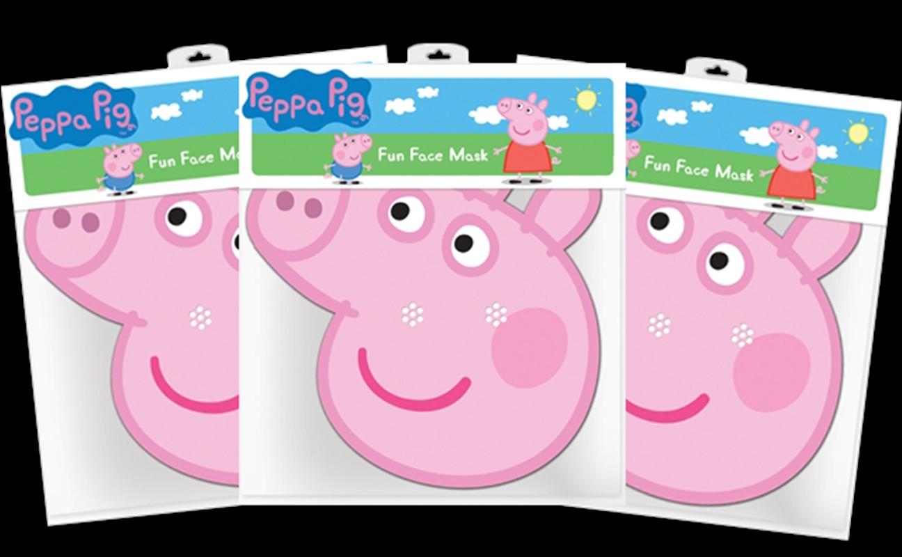 Peppa Pig - Peppa Pig Cardboard Masks 3-Pack | Apparel