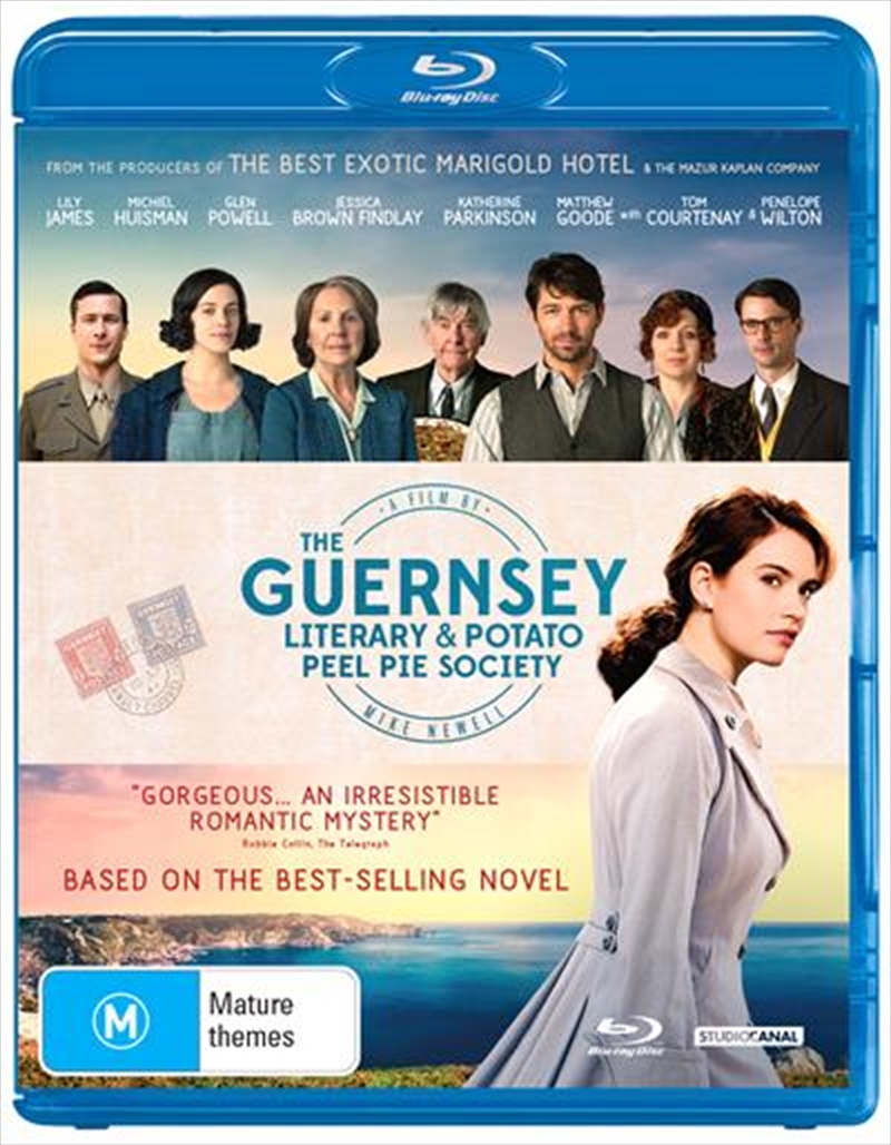 Guernsey Literary And Potato Peel Society, The | Blu-ray