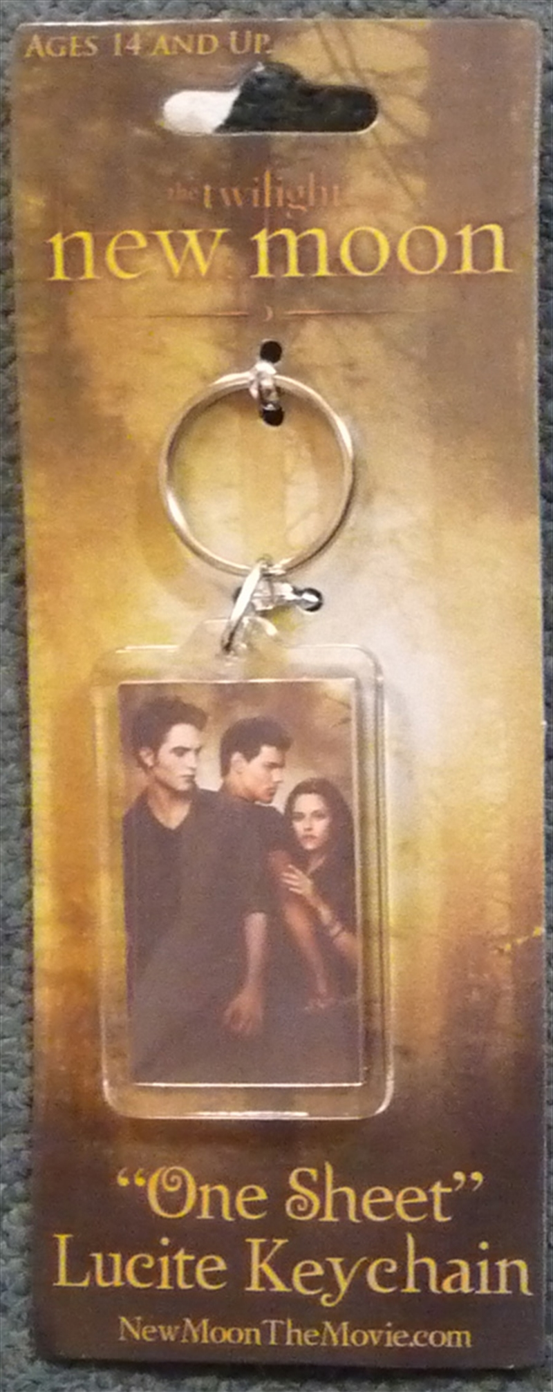 The Twilight Saga: New Moon - Lucite Keychain One Sheet | Accessories