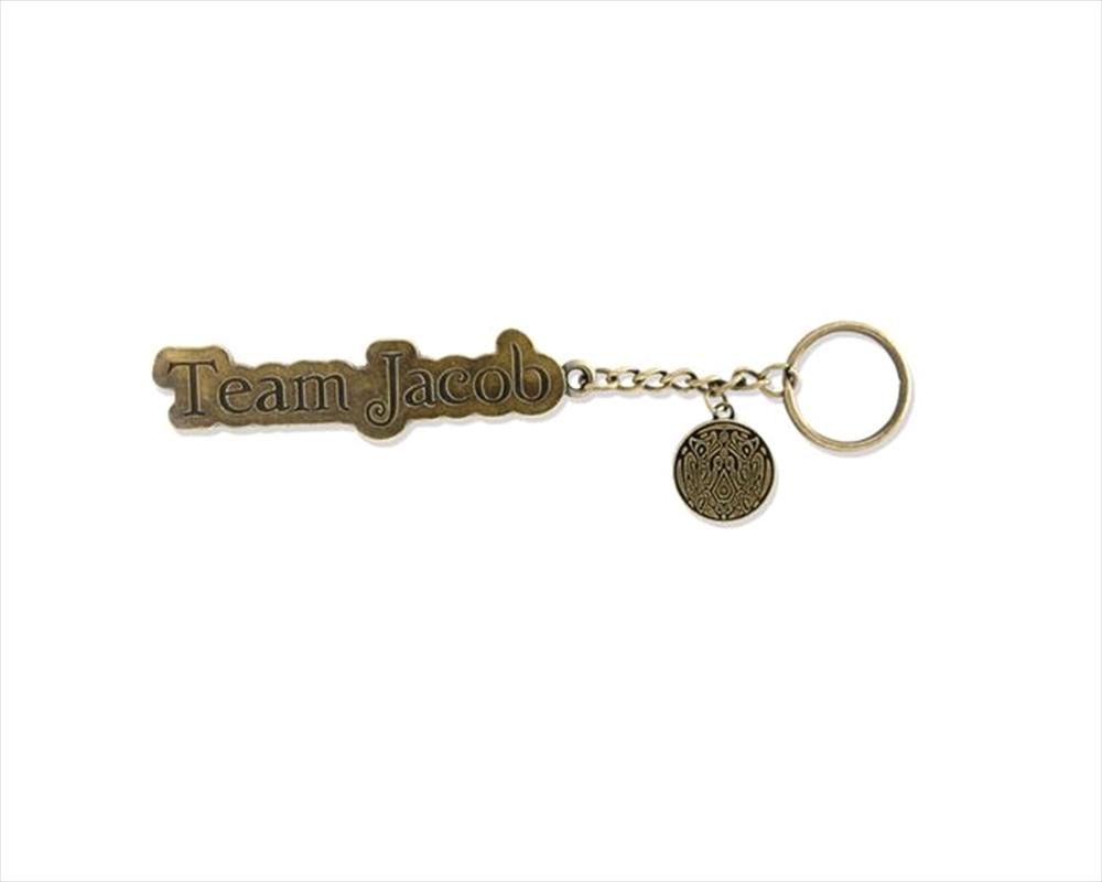 The Twilight Saga: New Moon - Keychain Metal & Enamel Team Jacob   Accessories