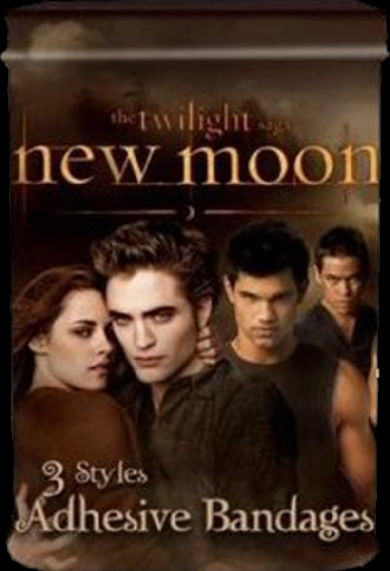The Twilight Saga: New Moon - Adhesive Bandages in Tin Swirly Crests   Accessories