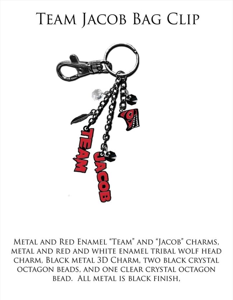 The Twilight Saga: Eclipse - KeyRing/Bag Clip TJ   Accessories