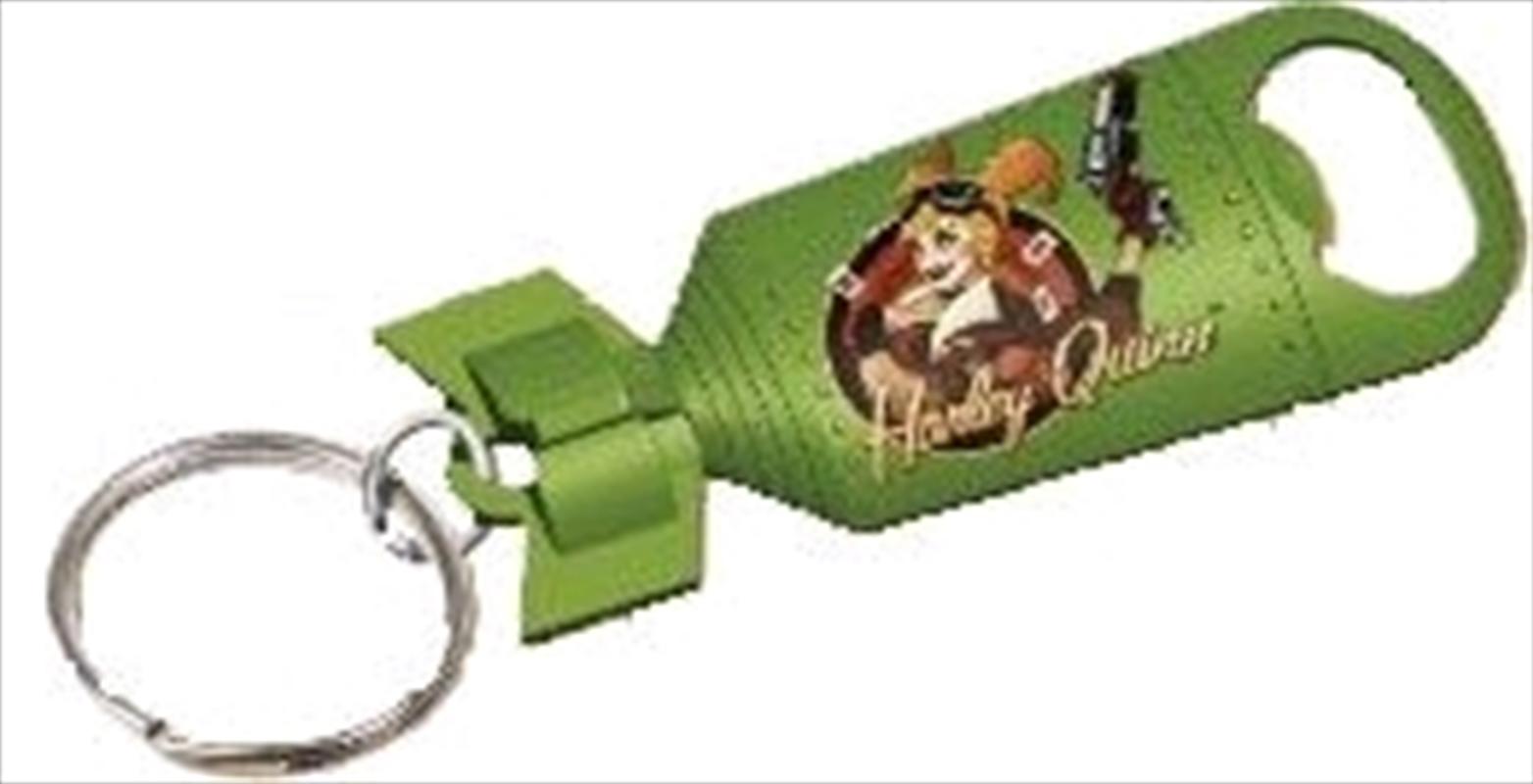 DC Bombshells - Harley Quinn Bottle Opener Keychain   Accessories