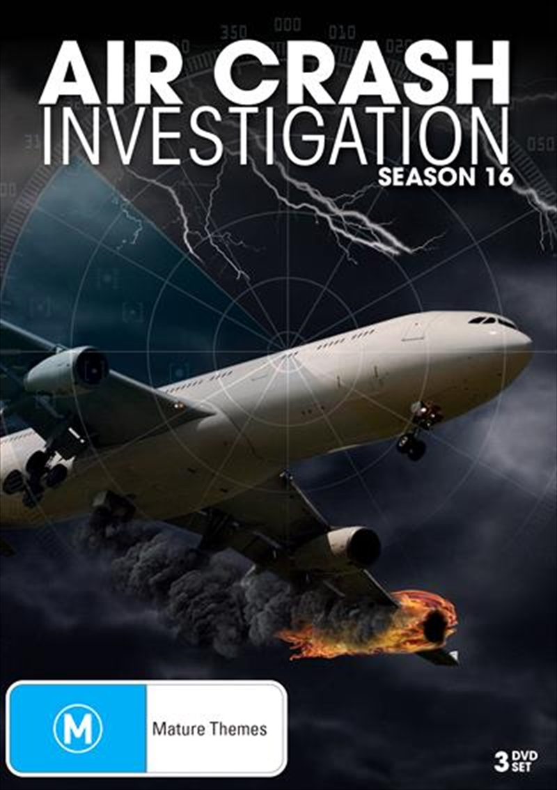 Air Crash Investigations - Season 16 | DVD