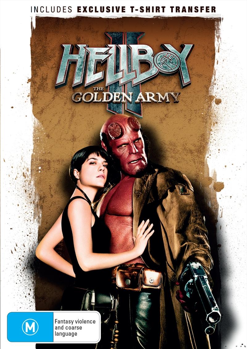 Hellboy II - Golden Army - Sanity Exclusive | DVD