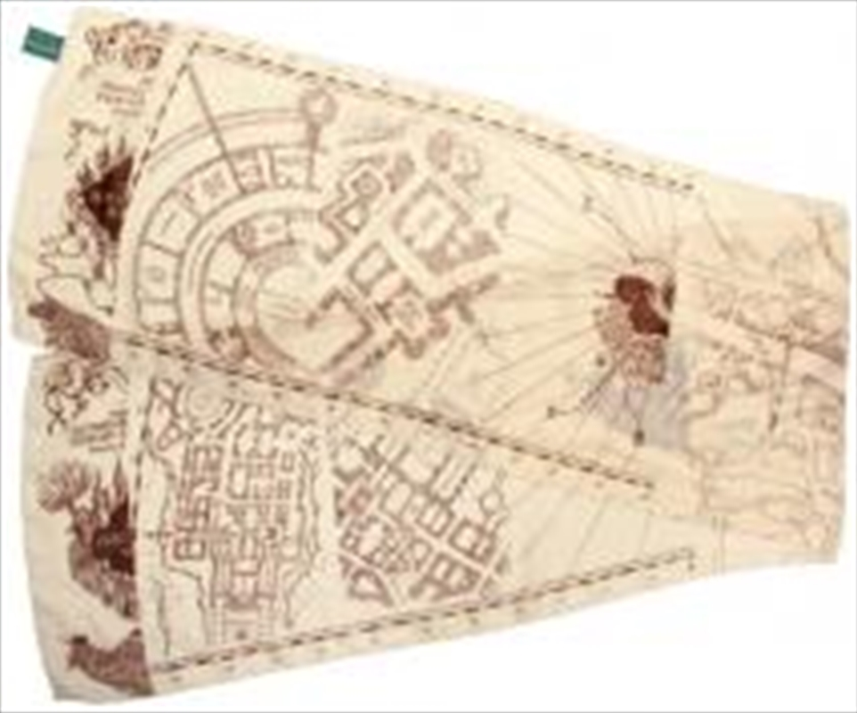 Marauders Map Scarf | Apparel