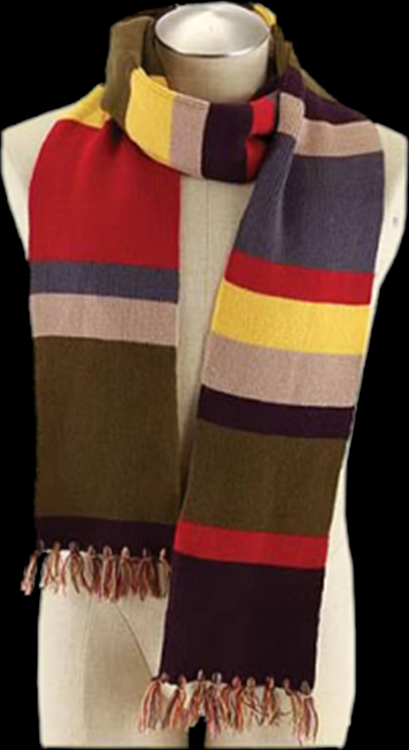 Fourth Doctor 6 Foot Scarf | Apparel