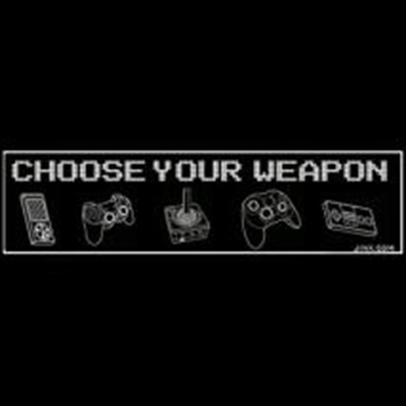 Controller Weapons Sticker   Merchandise
