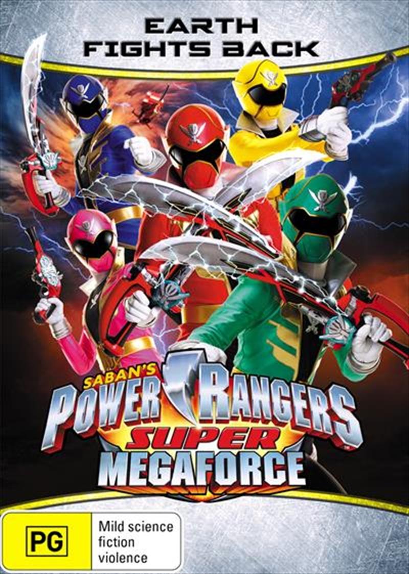 Power Rangers - Super Megaforce - Earth Fights Back | DVD