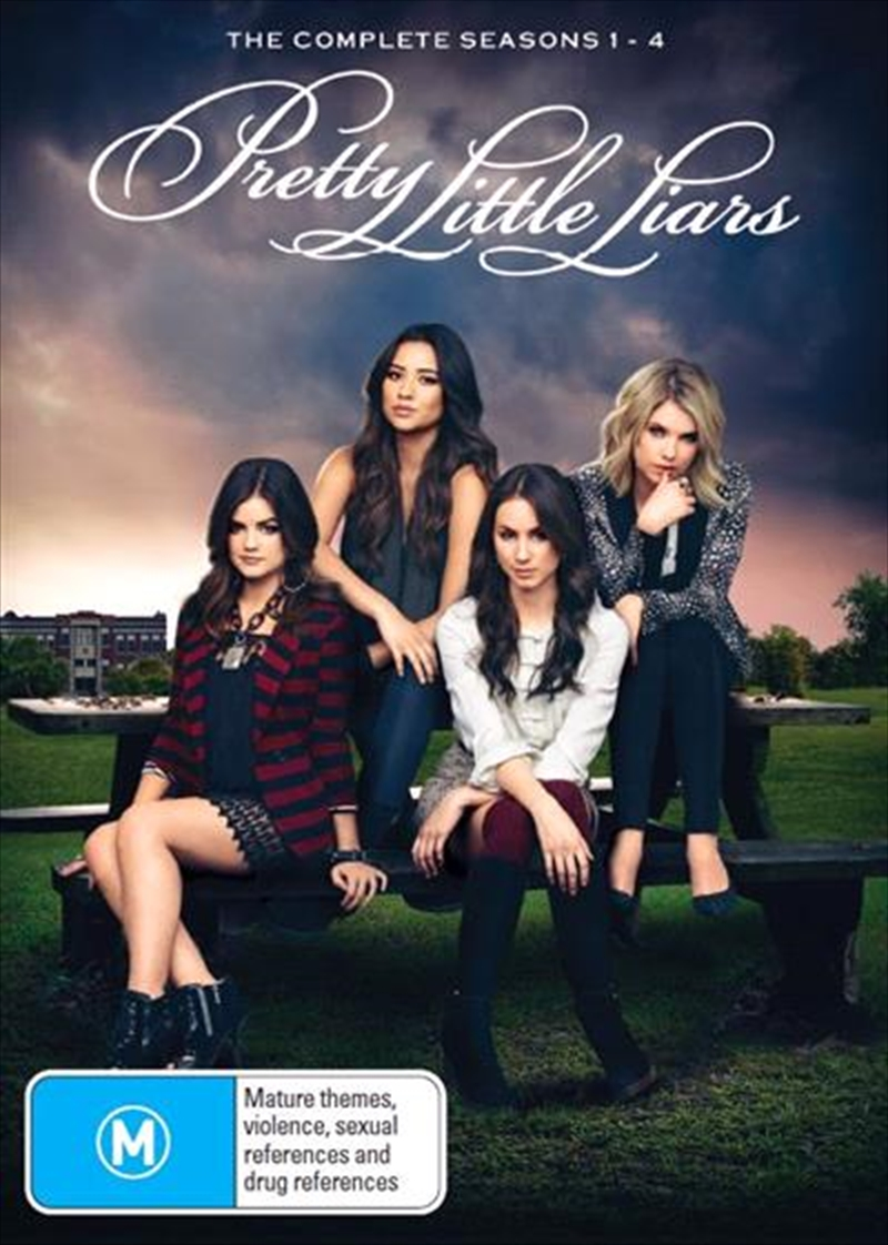 Pretty Little Liars - Season 1-4 | Boxset | DVD