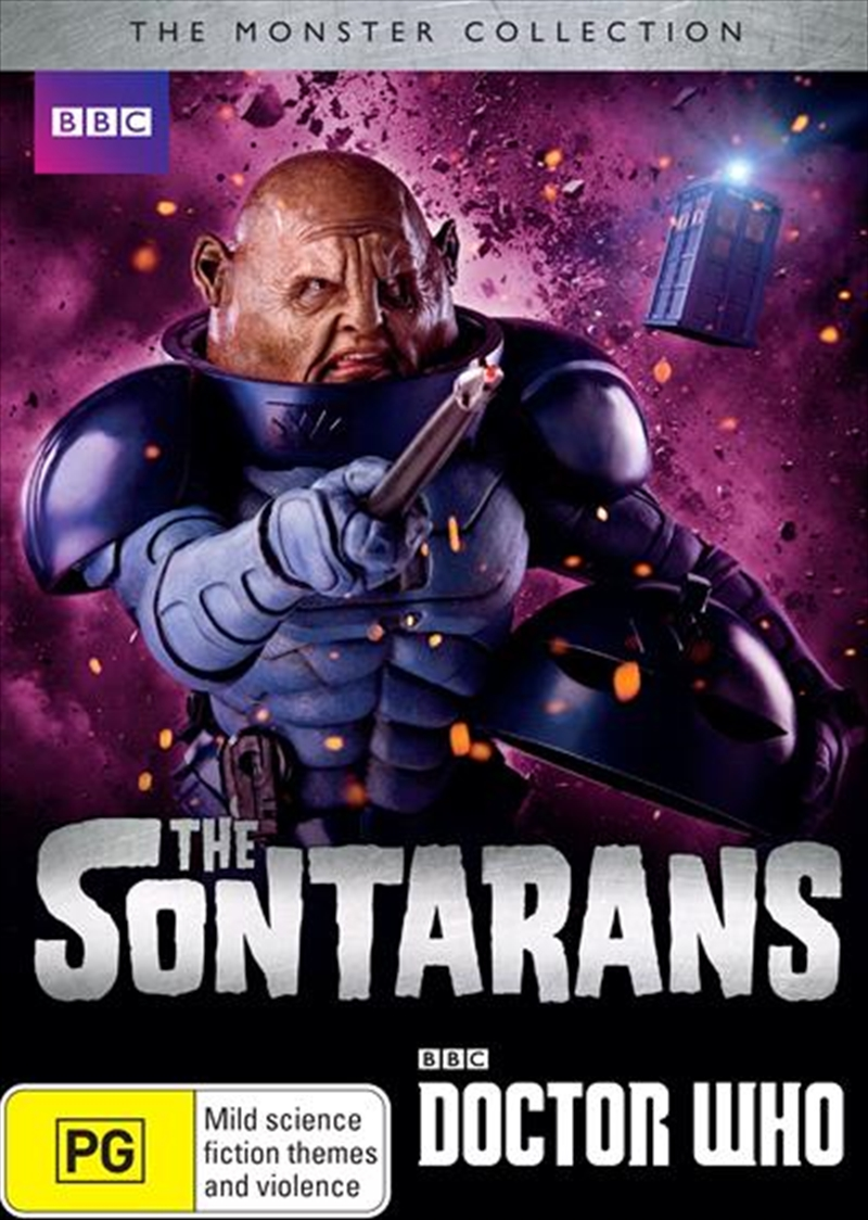 Doctor Who - The Sontarans | The Monster Collection | DVD