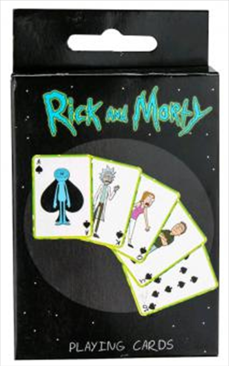Rick and Morty - Playing Cards | Merchandise