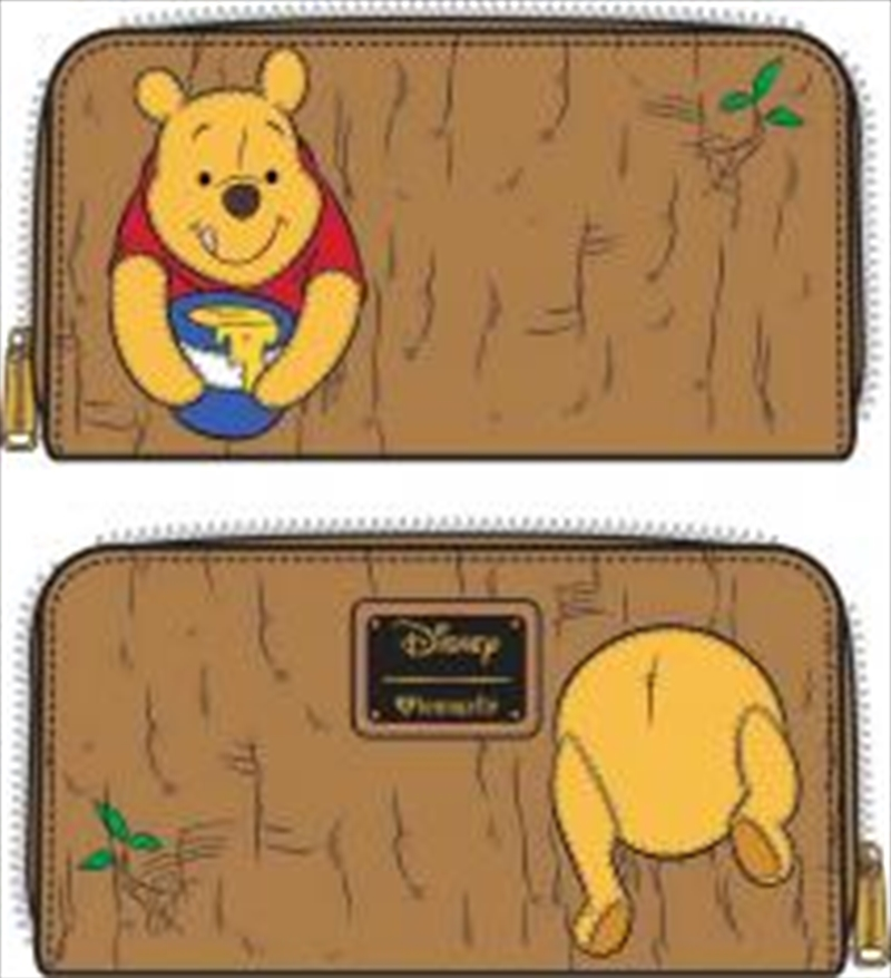 Winnie the Pooh - Pooh in Tree Zip-Around Wallet | Apparel