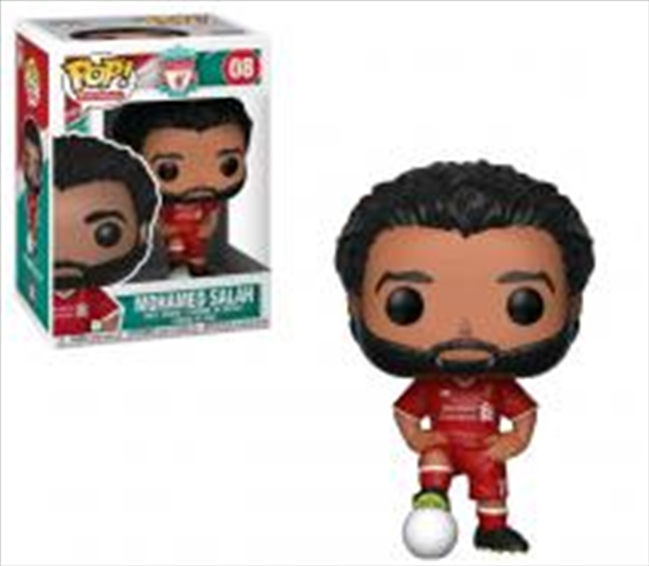 English Premier League: Liverpool - Mohamed Salah Pop! Vinyl | Pop Vinyl