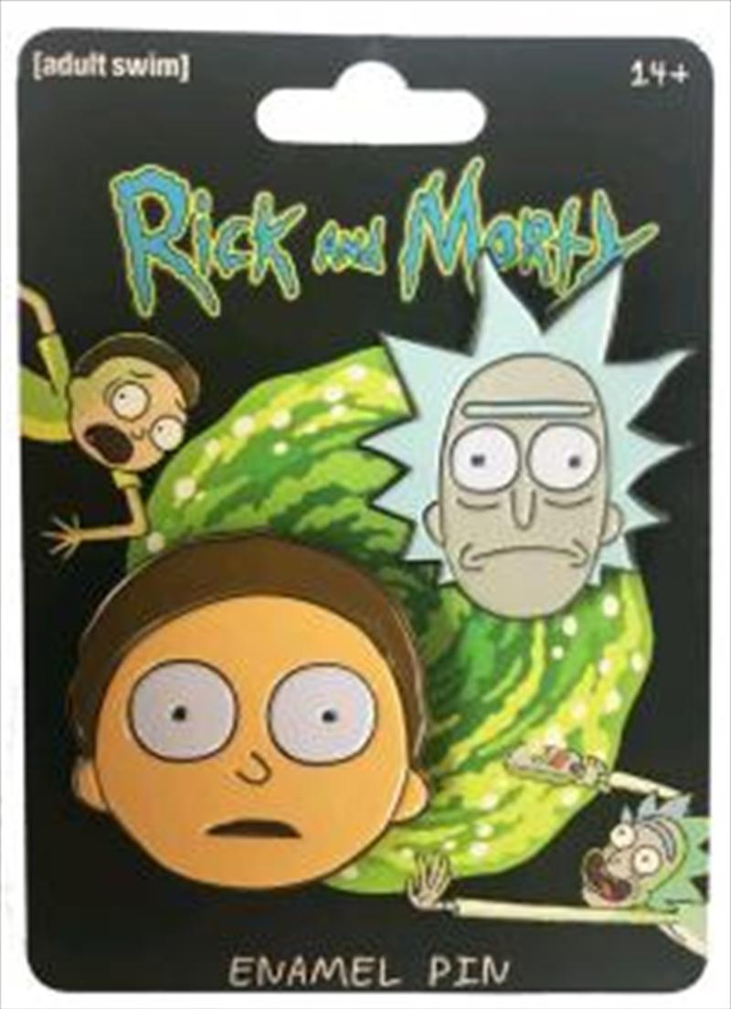 Rick And Morty Enamel Pin Set   Merchandise