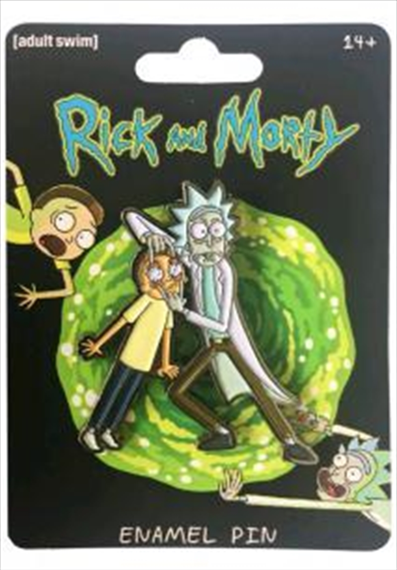 Rick And Morty Enamel Pin | Merchandise