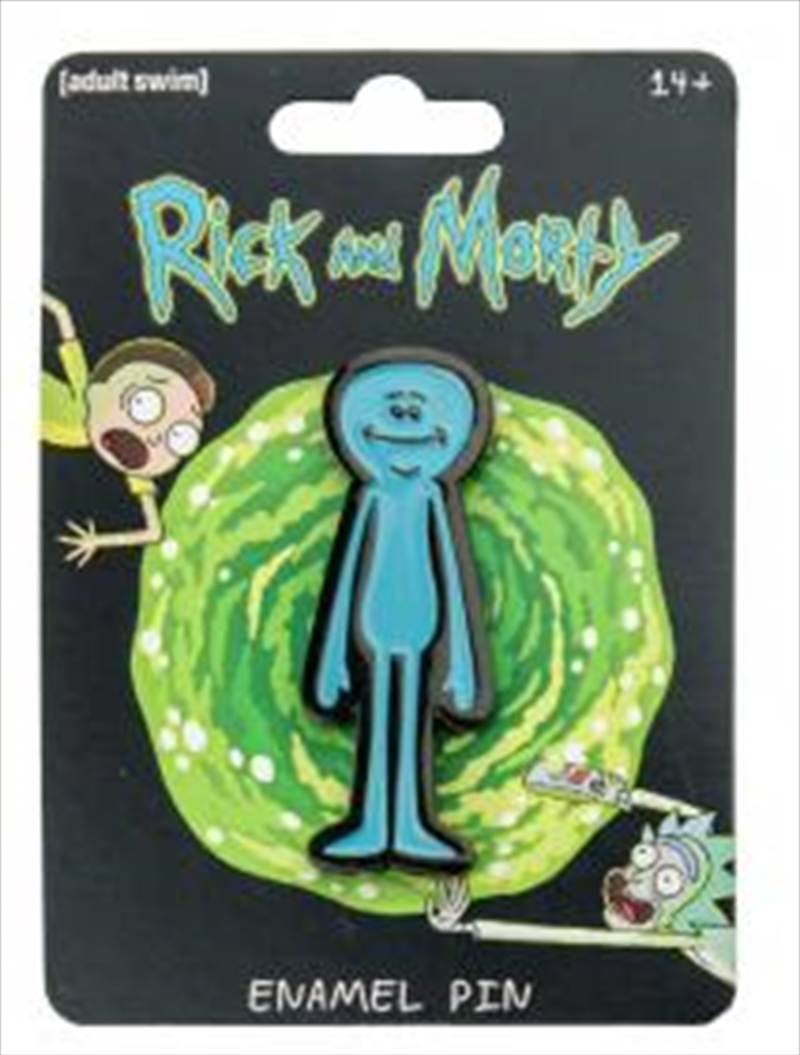 Mr Meeseeks Enamel Pin | Merchandise